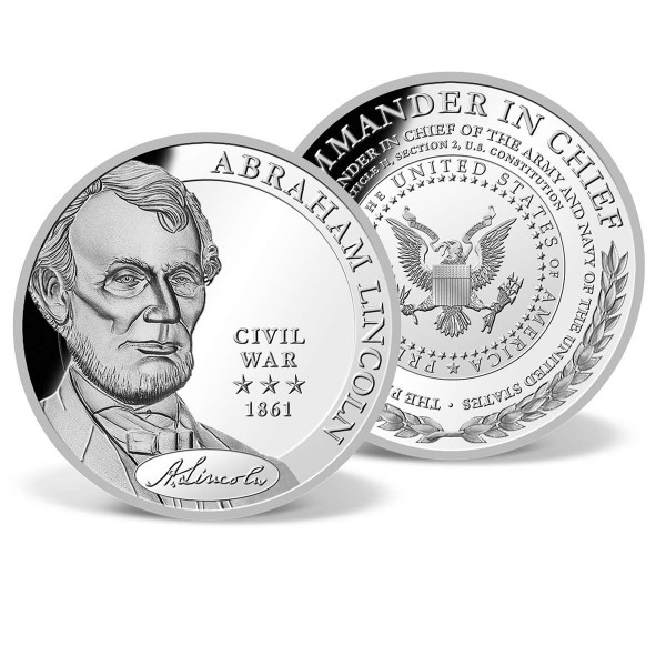 Abraham Lincoln - Commander in Chief Commemorative Coin US_8200820_1