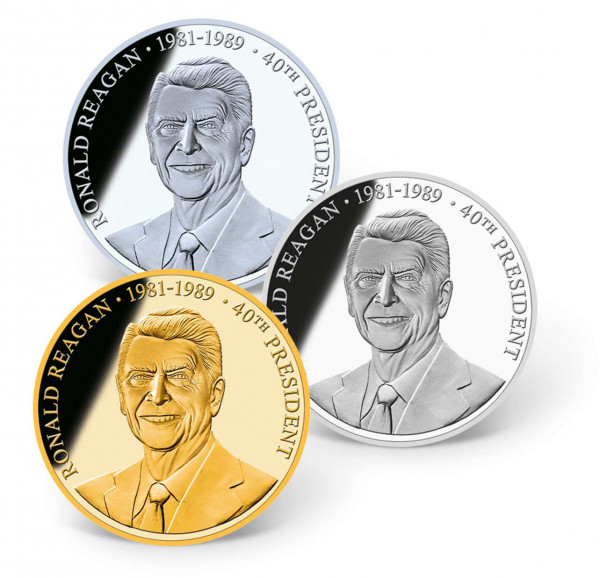 Ronald Reagan Precious Metal Coin Set US_1700267_1
