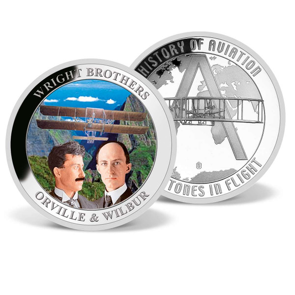 Wright Brothers Commemorative Coin US_2809670_1