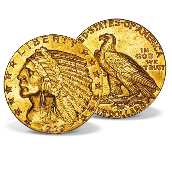 1909 Gold Indian Head Half Eagle US_2530138_1