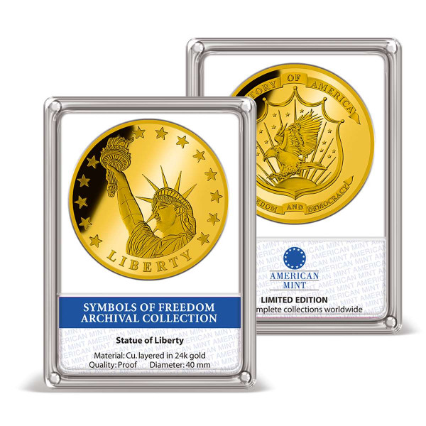 Statue of Liberty Archival Edition Commemorative Coin US_9175601_1
