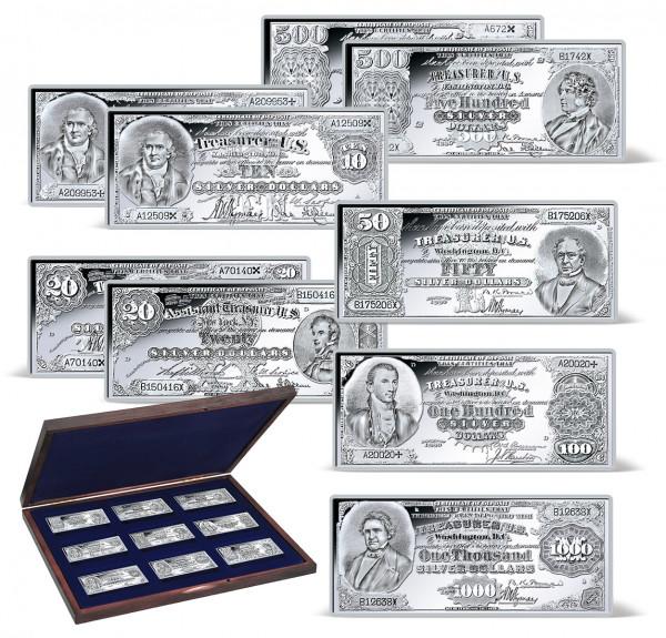 1878-1880 Silver Certificates Ingot Set US_9171468_1