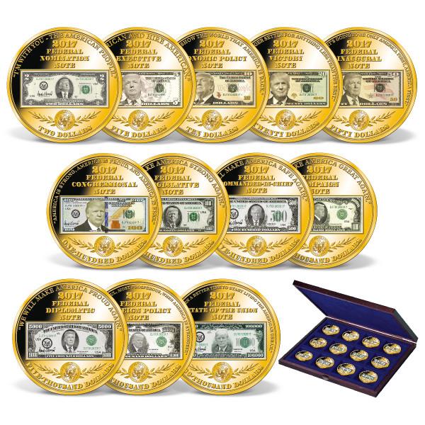 Donald Trump Banknote Tributes Set