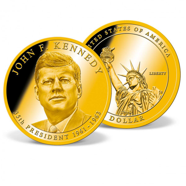 Colossal John F. Kennedy Presidential Dollar Trial US_9171902_1