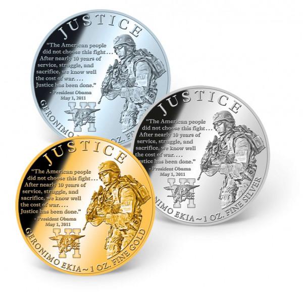 Justice — Geronimo EKIA Precious Metal Coin Set US_1681267_1