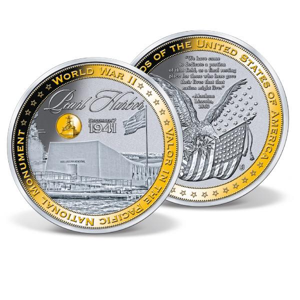 Pearl Harbor Colossal Commemorative Coin