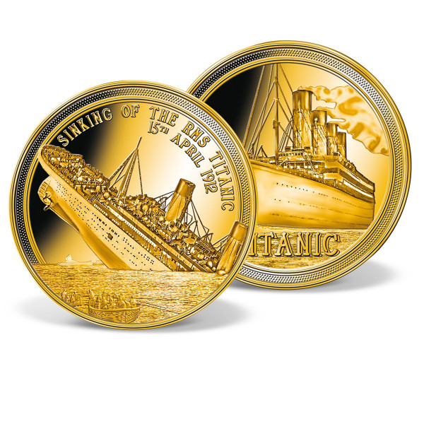 Sinking of the Titanic Commemorative Gold Coin US_1954201_1