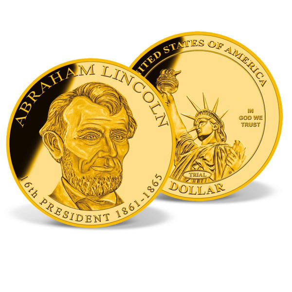 Abraham Lincoln Gold Presidential Dollar Trial US_2160286_1