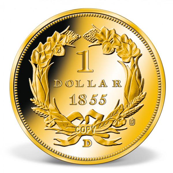 1855-D Indian Princess Head Dollar Replica