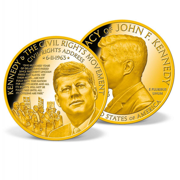 Kennedy and the Civil Rights Movement Commemorative Coin US_2512751_1