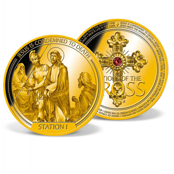 Station I of the Cross Commemorative Coin US_9035551_1