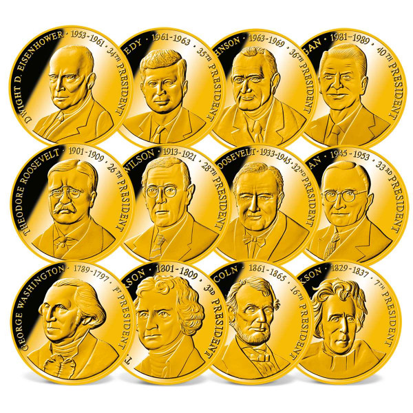 America´s Greatest Presidents Commemorative Coin Set US_1711416_1