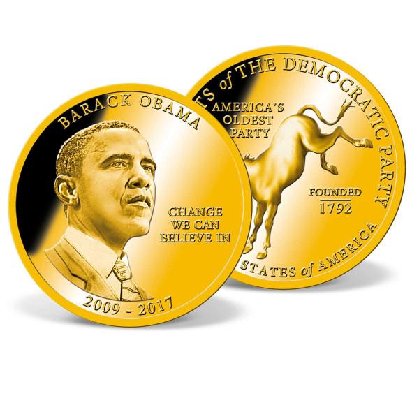 President Barack Obama Commemorative Coin US_1711650_1