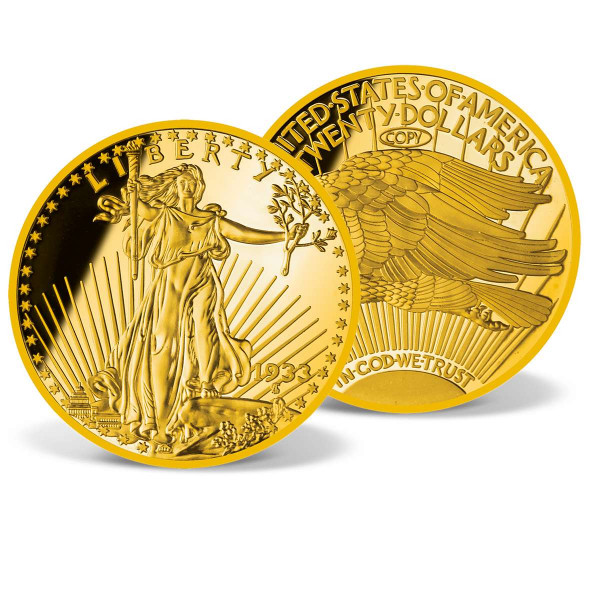 1933 Giant Gold Double Eagle Proof Replica US_8200880_1