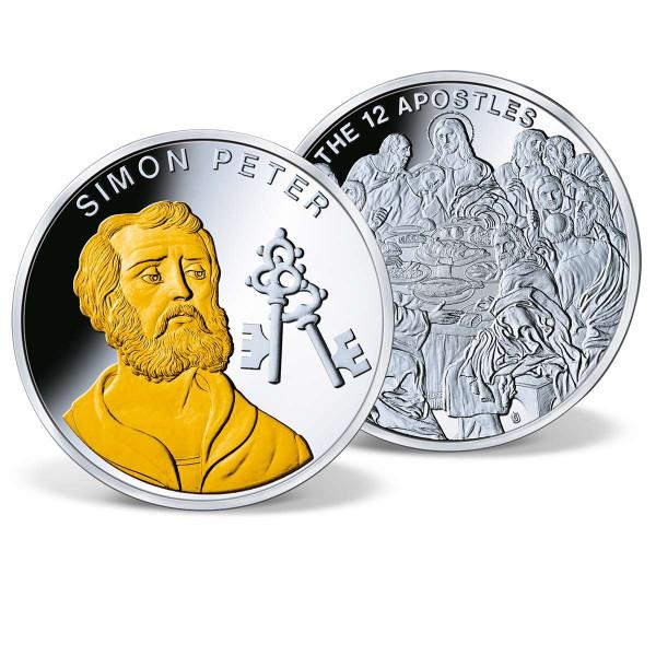 The Twelve Apostles - Simon Peter Commemorative Coin US_9035040_1
