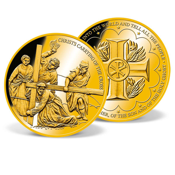 Christ's Carrying of the Cross Commemorative Coin US_9530702_1