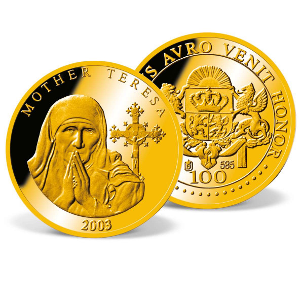 Mother Teresa Commemorative Gold Coin US_2160183_1