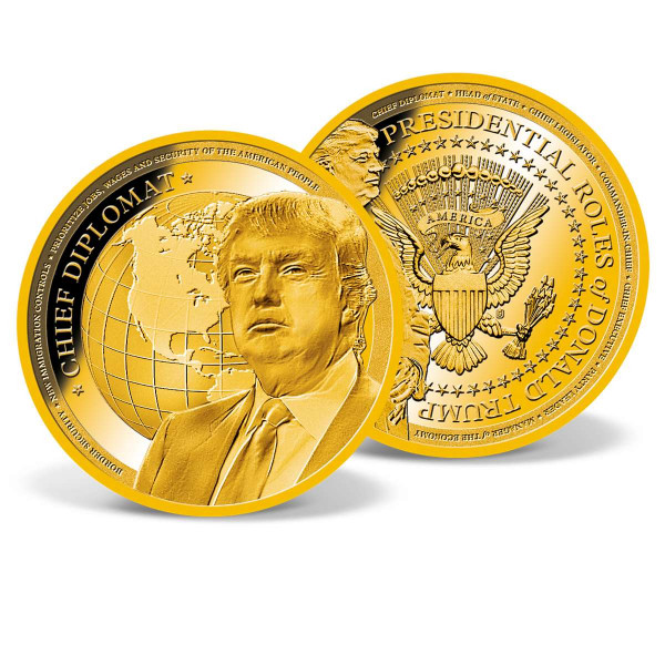 President Trump - Chief Diplomat Commemorative Coin US_9442181_1