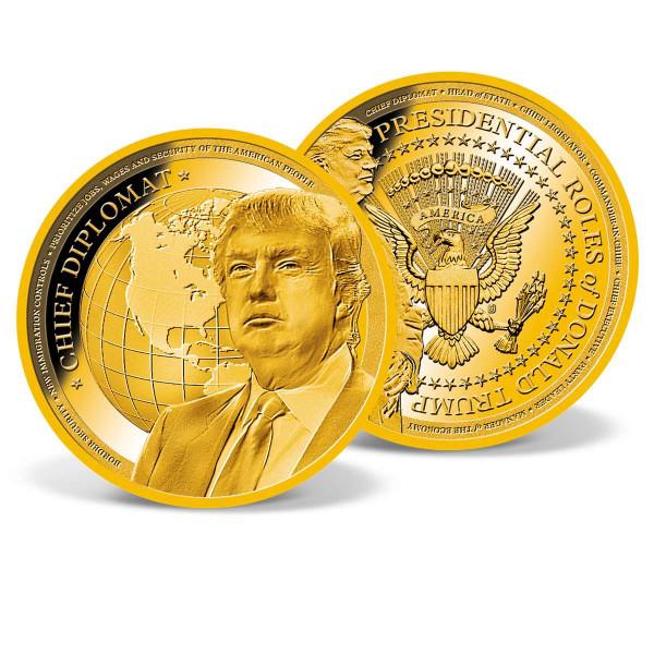 President Trump - Chief Diplomat Commemorative Coin US_9442181_1