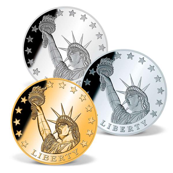 Statue of Liberty Precious Metal Coin Set US_1700263_1