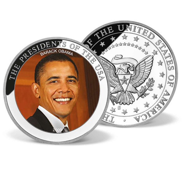 Barack Obama Commemorative Color Coin US_1701366_1