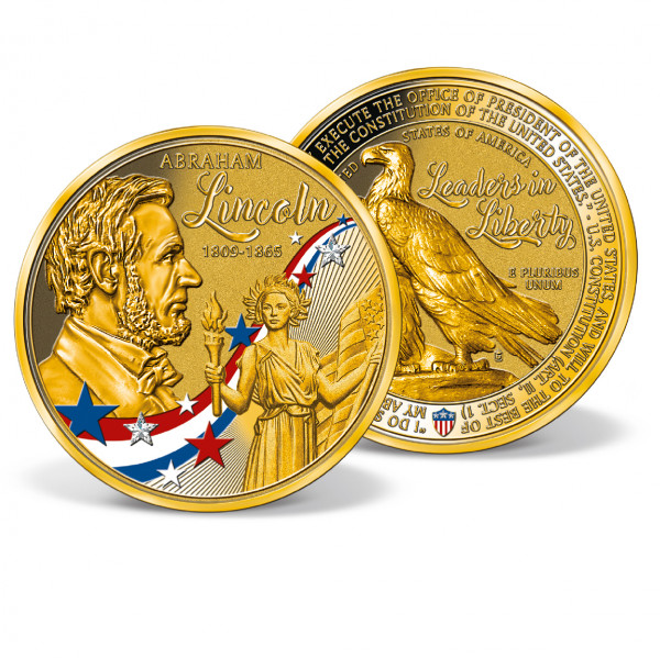 Abraham Lincoln Colossal Commemorative Coin