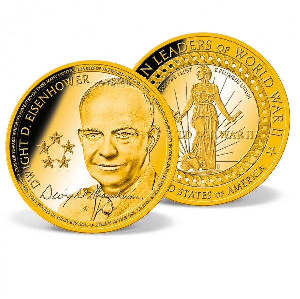 Dwight D. Eisenhower Commemorative Coin US_1701801_1
