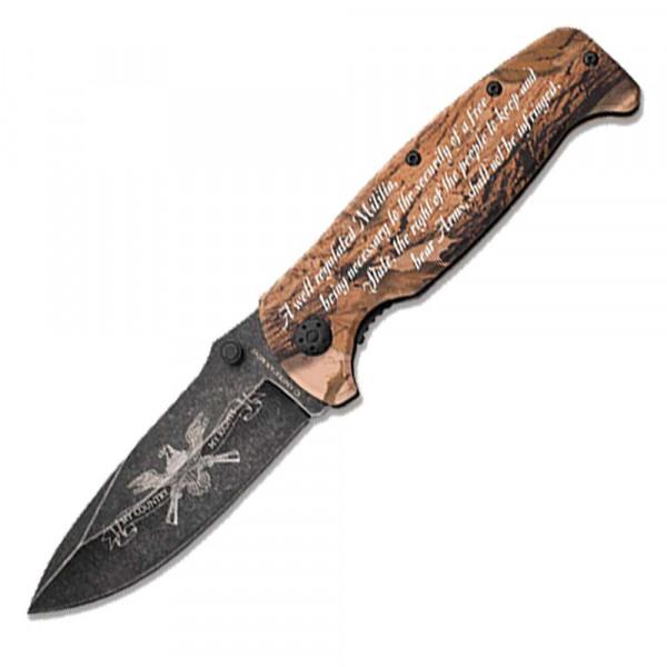Second Amendment Pocket Knife US_5275190_1