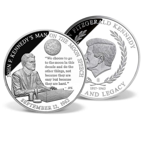 John F. Kennedy's Man on the Moon Speech Commemorative Coin US_2341334_1
