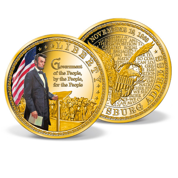 Government of the People Colossal Commemorative Coin