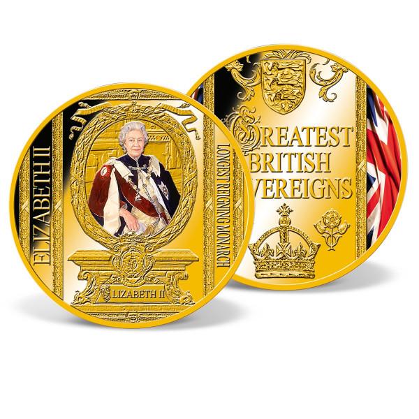 Queen Elizabeth II - Longest Reigning Monarch Commemorative Strike US_8206104_1