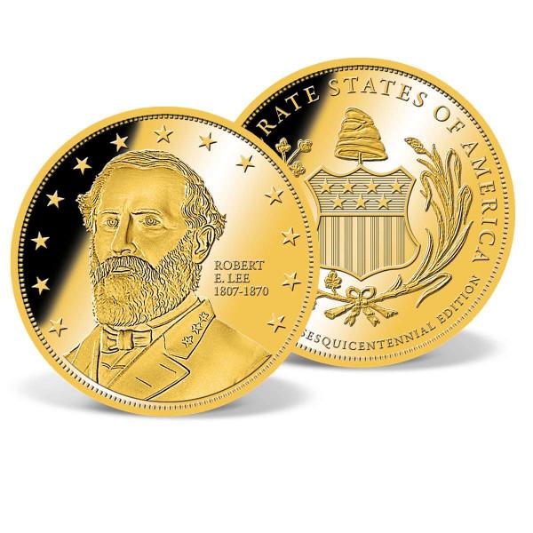 Robert E. Lee Commemorative Gold Coin US_2160805_1