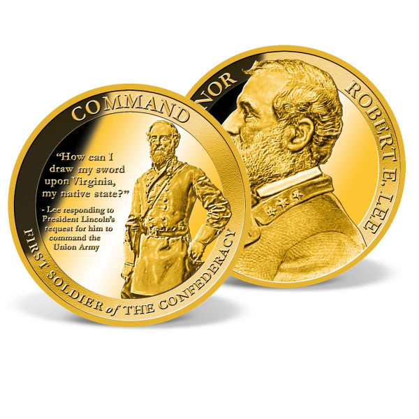 Robert E. Lee Command Commemorative Coin US_8300360_1