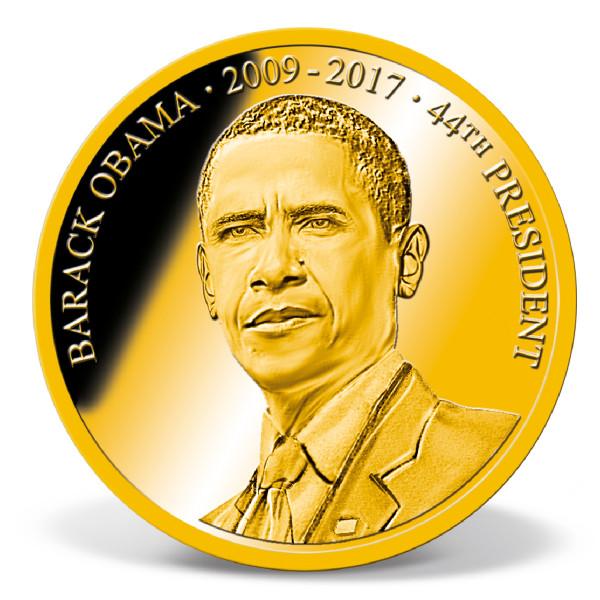 Barack Obama Commemorative Coin