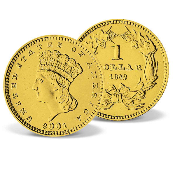 Indian Head Dollar Gold Replica US_2629003_1