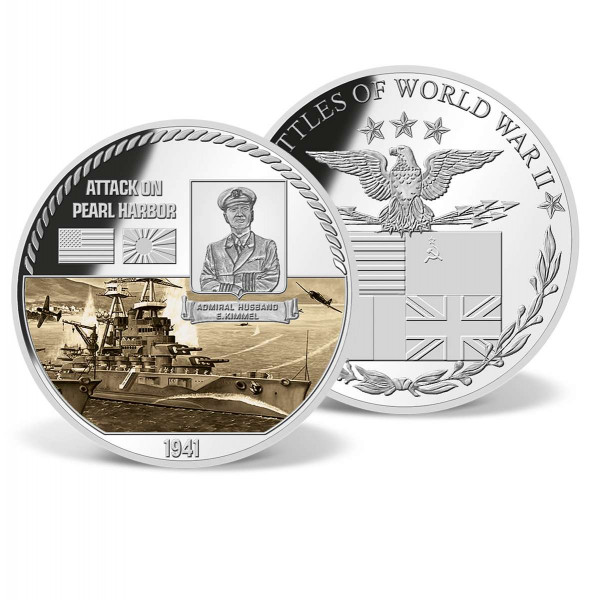 Attack on Pearl Harbor Commemorative Color Coin US_9170662_1