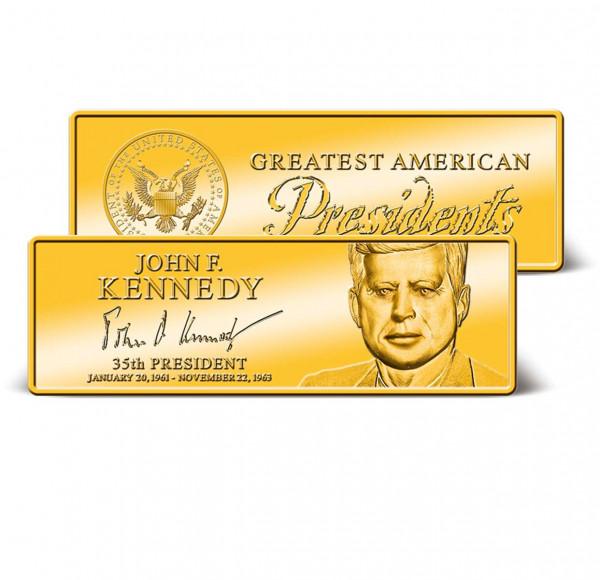 John F. Kennedy Commemorative Ingot US_9171280_1