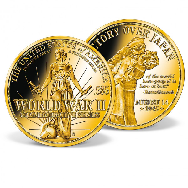 Victory Over Japan Commemorative Gold Coin