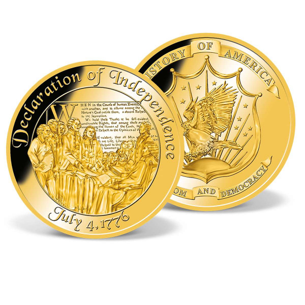 Declaration of Independence Commemorative Gold Coin US_8201285_1