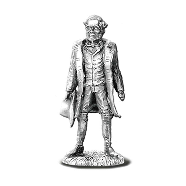 Robert E. Lee Pewter Figurine US_7640006_1