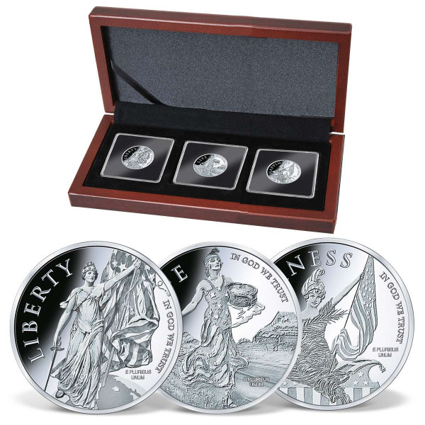 Declaration of Independence Commemorative Silver Coin Set US_1710984_1