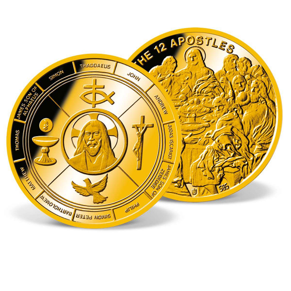 The 12 Apostles Commemorative Gold Coin US_9035025_4