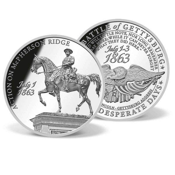 Action on McPherson Ridge Commemorative Coin US_9045030_1