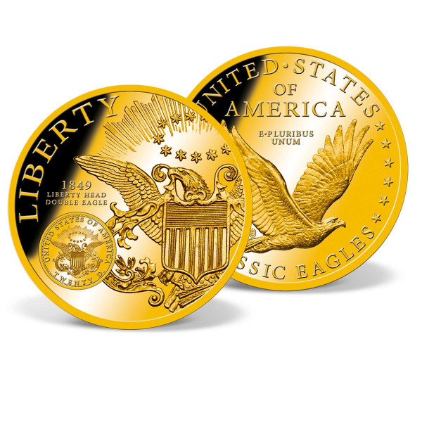 Jumbo Liberty Head Double Eagle Commemorative Coin US_8221101_1