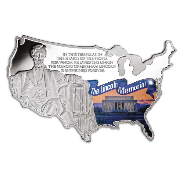 Lincoln Memorial - U.S. Shaped Commemorative Coin US_9184951_1