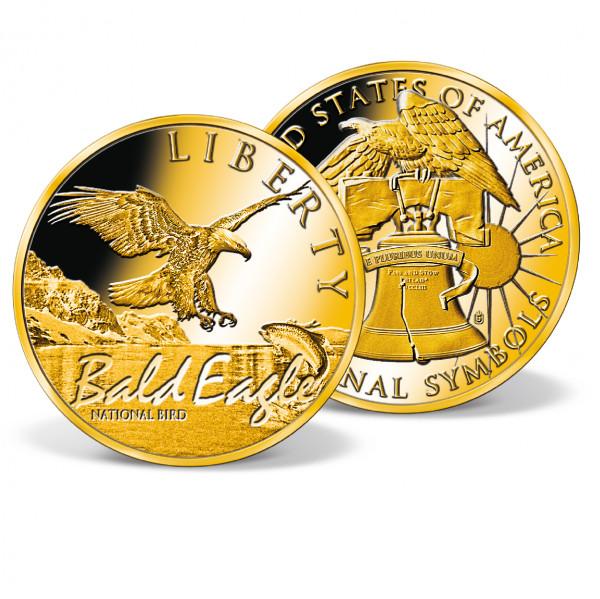 Bald Eagle - National Bird High-Relief Commemorative Coin