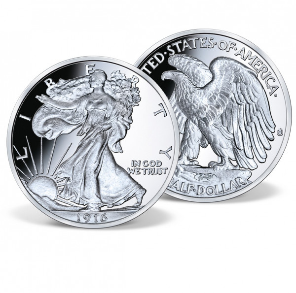 1916 Walking Liberty Half Dollar Proof Archival Edition US_8202313_1