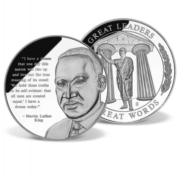 dr martin luther king jr coin