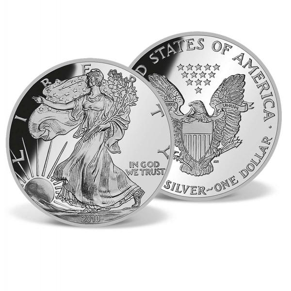 2010 Silver Eagle Bullion Coin US_2716996_1