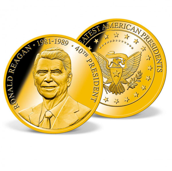 Ronald Reagan Commemorative Gold Coin US_1711526_1